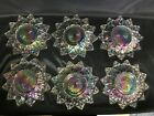 VINTAGE FEDERAL RAINBOW IRIDESCENT GLASS 6.25