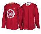 Montreal Canadiens Adidas Authentic Red Player Practice Jersey