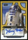 2013 Topps Star Wars Galactic Files 2 Autographs Guide 21