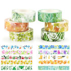 Floral Plant Flower DIY Washi Tape Scrapbooking Adhesive Sticker Decorative Cute