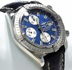 BREITLING Windrider A13356 Chronomat Evolution Steel 44mm Watch MINT CONDITION