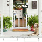 Dog Gate Indoor Door Pet Fence Baby Barrier Walk Through Child Toddler Safety