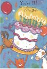 Birthday Card with Envelope 11th