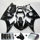 Vivid Black Fairing Kit For Yamaha YZF R6 2003-2004 / R6S 2006-2009 ABS Bodywork