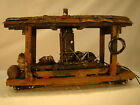 On30 Steam Donkey Logging Car custom weathered lot 11
