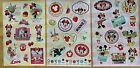 Disney Minnie Mouse Stickers 3 Sheets Free Shipping Sale