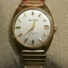 Vintage Men's Waltham Automatic Watch (RUNNING) for Parts or Repair