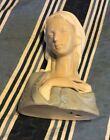 Vintage Lladro Figurine #4649 Madonna Virgin Mary Glazed Head Bust Retired Mint