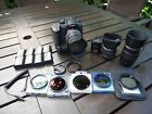 Panasonic Lumix Gh5 Camera + Lenses + ND filters + batteries + accessories