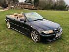 BMW 330ci Convertible Automatic Low Mileage