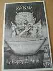 POPPY Z BRITE Pansu Chapbook Limited SIGNED  Numbered