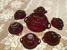 Coronation Ruby Red Berry Bowl Set