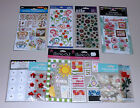 Lot of Flower Stickers Sticko Jolees Provo Craft  More 10 Packs