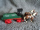 Red Crown Gasoline Standard Oil Co. Amoco die cast metal Horses and Tank Wagon