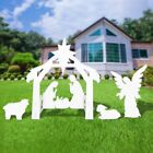 4ft Nativity Scene Set Holy Family Display Outdoor Christmas Yard Decoration NEW