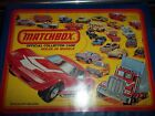 Mixed Lot 35 Vintage  Diecast Cars Matchbox Hot Wheels Carry Case 1980