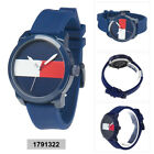 Tommy Hilfiger Cool Sport Mens Analog Casual Blue Band 1791322