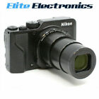 NIKON A1000 CAMERA COOLPIX BLACK 16MP 35X OPTICAL ZOOM FIXED LENS