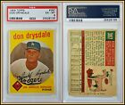 Don Drysdale Cards and Autographed Memorabilia Guide 9
