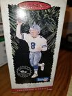 1996 HALLMARK KEEPSAKE CHRISTMAS ORNAMENT NFL TROY AIKMAN FOOTBALL LEGENDS