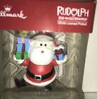 NEW HALLMARK RUDOLPH THE RED-NOSED REINDEER SANTA CLAUS Christmas Tree Ornament