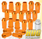 FOR NISSAN 12x125 LOCKING LUG NUTS TRACK OPEN 20 PIECES UNIT +KEY GOLD