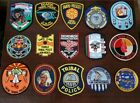 Native American Indian Law Enforcement Tribal Police Public Safety Patch Lot 15