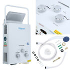 6L Propane Gas LPG Portable Tankless Hot Water Heater Outdoor RVs