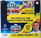 2017-18 Topps Match Attax Champions League Nordic Edition Trading Cards Box