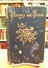 Poetry and Song by James Gowdy Clark Civil War Poet Minneapolis MN Signed