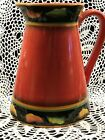 Clay Art Hand Painted Jalapeno Pitcher 84 oz 9 New With Tags from Kohls