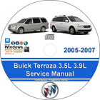 Buick Terraza 2005-2007 3.5L 3.9L Factory Workshop Service Repair Manual