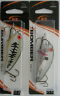 2 Bomber Flat A Shallow Crankbaits 2 1 2 3 8 oz Two Great Colors