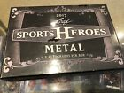 2017 Leaf Metal Sports Heroes Factory Sealed Hobby Box 5 Autos