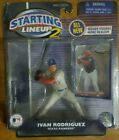2001 Starting Lineup 2 Ivan Rodriguez Texas Rangers SLU Hasbro Sports Figure