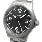 Sinn 556 A Automatic Black Dial Date Stainless Steel Bracelet Watch Used Ex++