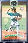 2018 Topps Archives Dennis Eckersley AUTO ON-CARD 1996 Topps Stadium Club 1 1