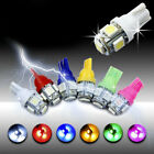 5pcs Bulb Car Light Replacement Superbright T10 5050 5 SMD LED Car Light Lamp