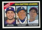2015 Topps Heritage Baseball Gum Damage Backs Add Scratch and Sniff Twist 7
