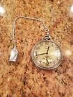 1927 Elgin 12s 17 Jewels 345 Pocket Watch Philadelphia 14kt White Gold G F Case
