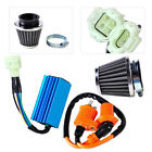 Fit for GY6 50cc Scooter Moped Go Kart Racing Ignition Coil +CDI +Air Filter Kit