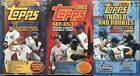 3 Box Lot - 2002 Topps Factory Sealed Hobby Series 1 2 Traded Rookies Mauer RC?