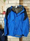 NICE Outdoor Research Wild Roses Rain Parka Jacket RARE Blue Small
