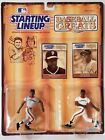 1989 Starting Lineup Baseball Greats Willie McCovey Willie Mays Kenner Figure 01