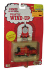 Thomas Tank Engine & Friends James Red Plastic Wind-Up Motorized Toy Train