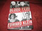 Blood Feud  The Clintons vs the Obamas by Edward Klein 2014 Hardcover signd