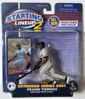 2001 Starting Lineup 2 Extended Series Frank Thomas Chicago White Sox MLB Figure