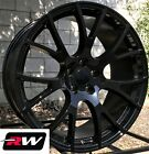 20 inch 20 x9 Chrysler 300 SRT Hellcat OEM Replica Wheels Gloss Black Rims