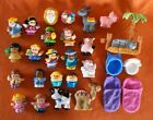 Fisher Price Little People Mixed Toy Lot of 27 Animals Figures Nativity Etc
