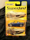 Matchbox Superfast rare 8000 edition Ferrari 360 Spider 1 64 Blue